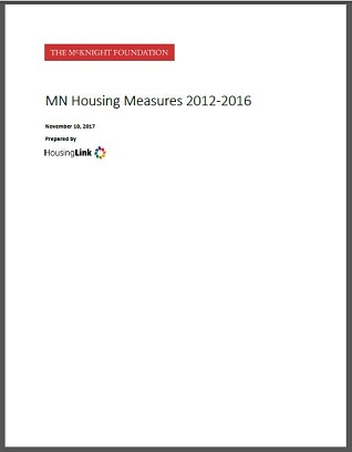 MN Housing Measures 2012-2015